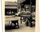Maxwell Street Vintage 1938 Original Old Photo. FREE U.S. Shipping