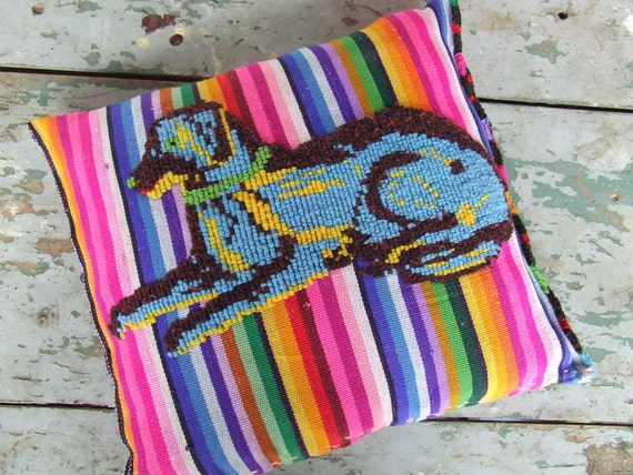 Reserved. Authentic  Mayan Textile Chichicastenango -Set of Pillows-
