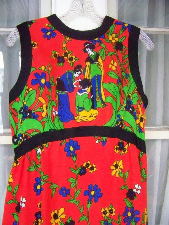 Lady in Red - Vintage Dress