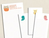 Little Owls - Printable To Do Lists