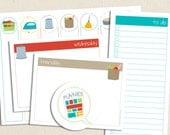 Printable Lists - Chores of the Week