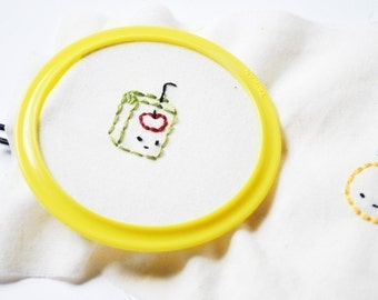 ABC Teeny Tinies - Alphabet Picture PDF Embroidery Pattern