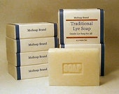Bulk 10 Bar Soap Traditional Lye Soap Pack