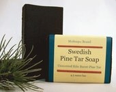 Swedish Pine Tar Soap - Olive Oil Castile Soap