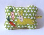 green cherry rabbit - pincushion