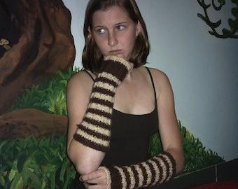 Armwarmer Fingerless Glove Mitt Pattern
