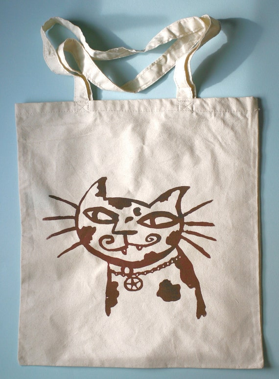 Star Kitty Shopper Tote