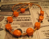 Necklace - Orange Dream