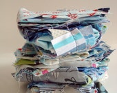 fabric Scrap Pack - Blues