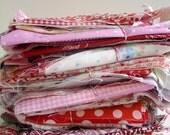 fabric Scrap Pack - Reds