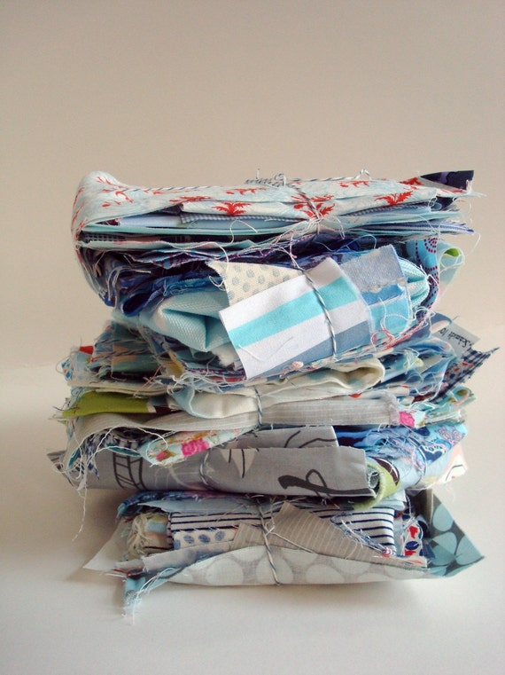 fabric Scrap Pack - Blues