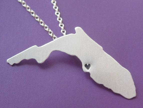 SALE Florida State Necklace