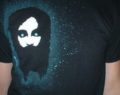 Medium T-Shirt--Hand Stenciled One of a Kind Zombie Christ Shirt