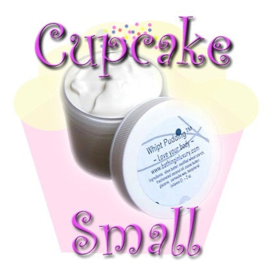 Cupcake Hand Cream Body Lotion Foot Cream - Shea Butter Concentrate Water-free