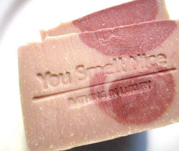 Stroke Me Handmade Soap - Soft Comforting Unisex  Scent - notes of amber musk sandalwood wood vanilla