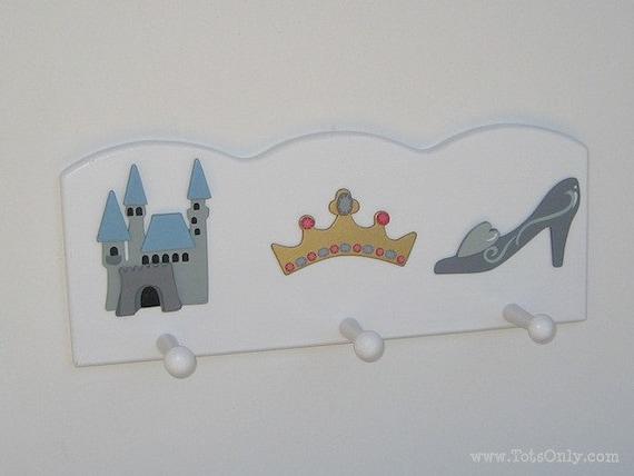 Princess Wall Peg Rack