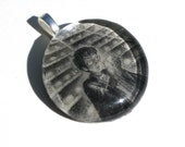 CLEARANCE Harry Potter Pendant -- Glass Pendant -- Oops -- CLEARANCE