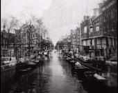 8x8 Holga Photo Print -- Double Vision Amsterdam -- Fine Art Photography