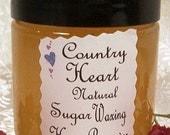Natural Sugar Wax Hair Removal Kit - 12 ounce size