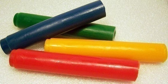 Kids Crayon Soap Sticks - Set of 4 - Really Colors - Fragrance Free