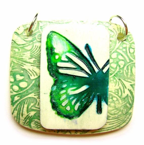 half butterfly pendant