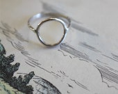 Circle Ring - Sterling Silver / Brass / Copper w/ Sterling Silver Band