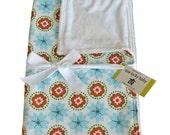 SAKURA Minky Baby Blanket