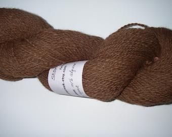 Handspun Alpaca Yarn 346 yds
