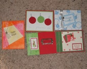 5 handmade Christmas cards Stampin Up