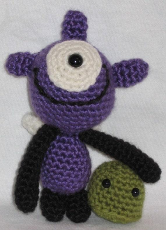 Amigurumi Monster Crochet : Monsters under the Bed amigurumi crochet pattern