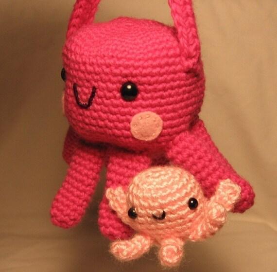 Octopus Purse - PDF crochet pattern