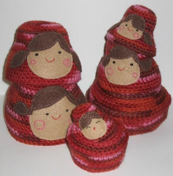 Nesting Dolls Crochet Pattern