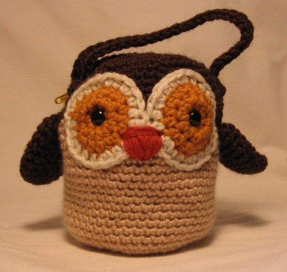 Owl Purse - Crochet Pattern