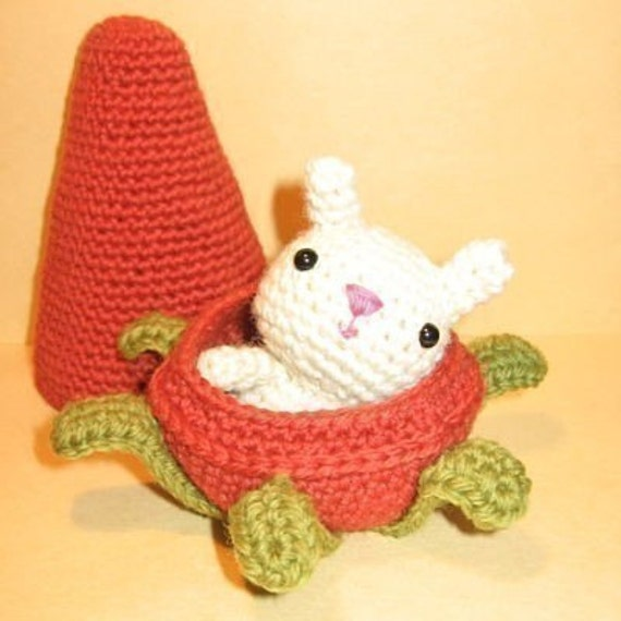 Little Bunny and his Carrot Home - Crochet Pattern