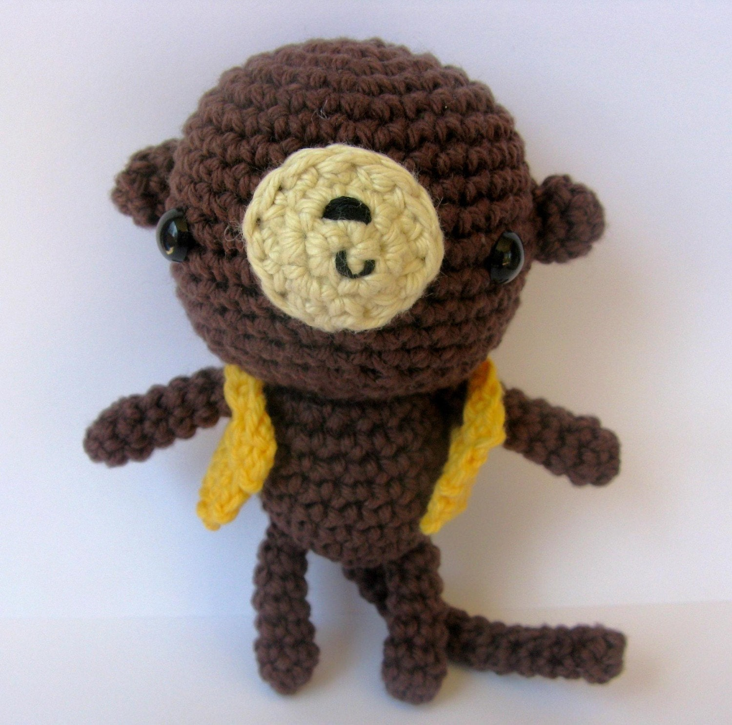 Amigurumi Monkey Etsy : Little Amigurumi Monkey crochet pattern by anapaulaoli on Etsy