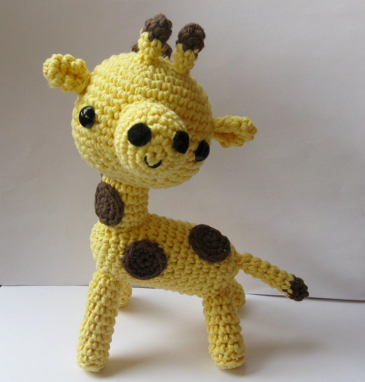 Amigurumi Giraffe PDF crochet pattern by anapaulaoli on Etsy