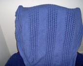 periwinkle blanket