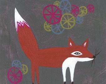 foxy - limited edition print