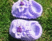 Strappy Baby Sandals - PDF Crochet PATTERN FOR SALE