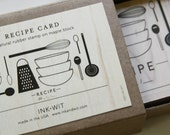 Natural Rubber Recipe Stamp