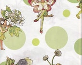 Half yard - Flower Fairies Morning Dots in Apple - Michael Miller - cotton quilt fabric