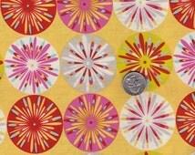 SALE - One yard - Dena Fishbein - Kumari Garden - Sashi in Pink cotton quilt fabric