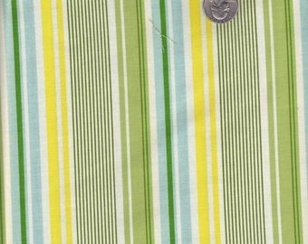 Fat quarter - Heather Bailey Nicey Jane - Slim Dandy in Blue - cotton quilt fabric
