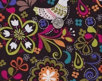 Half yard - Birds of Norway - Michael Miller cotton quilt fabric