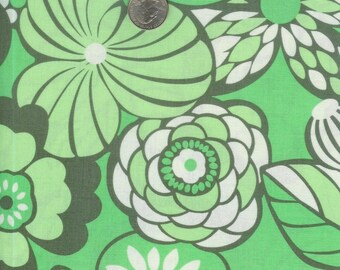 Fat quarter - Amy Butler Daisy Chain Water Garden in Forest cotton quilt fabric