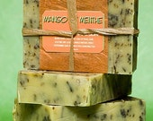 Mango de Menthe - mango and peppermint handmade soap