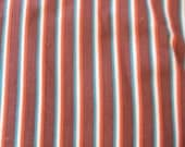 Vintage 1930s or 40s Striped Fabric feed sack
