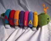 Crochet Pattern - Count Caterpillar