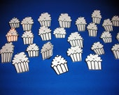 set of 10 mini cupcake pins for the cracked cup