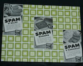 Vintage Wall Spam 'n' Salad, Spam Burgers and Spam 'n' Scrambled Cold or Hot Spam Hits the Spot